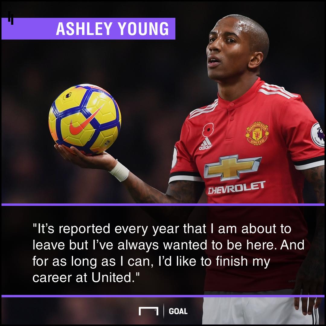 Ashley Young retirement plan