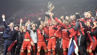 Toronto FC celebrations MLS Cup