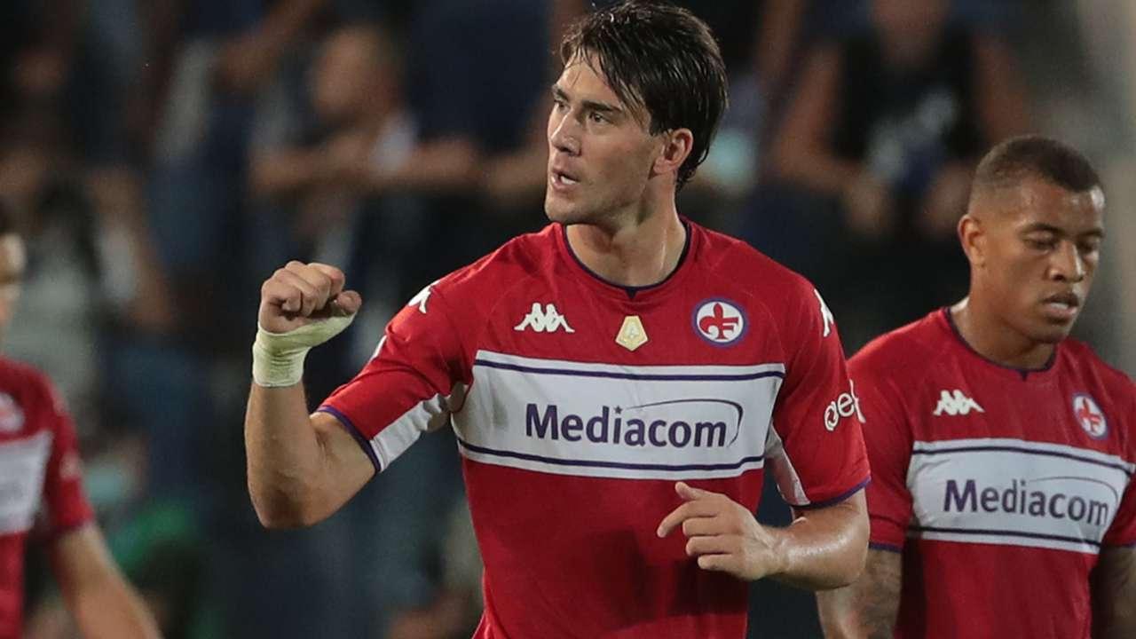 Vlahovic Atalanta Fiorentina Serie A