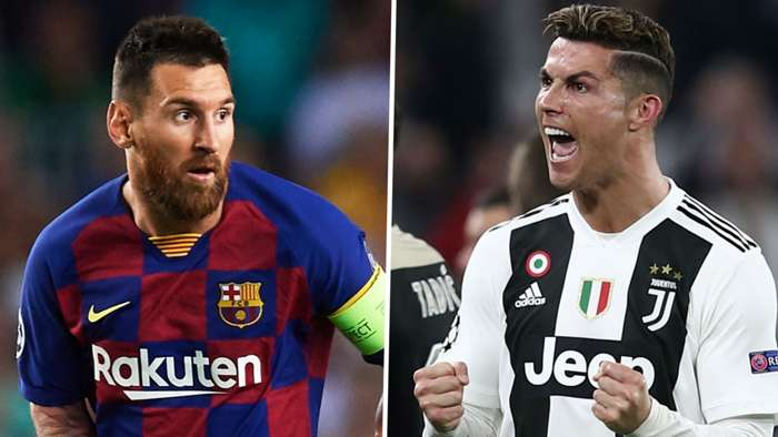 Lionel Messi Cristiano Ronaldo Champions League
