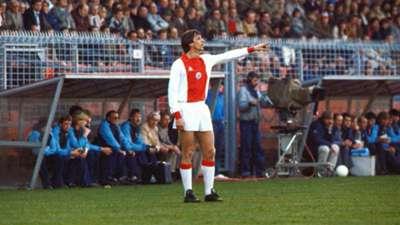 Johan Cruyff Ajax Amsterdam 04041982