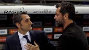 Ernesto Valverde Quique Sanchez Flores Espanyol Barcelona Copa del Rey 17012018