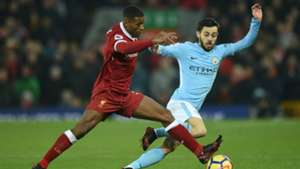 Georginio Wijnaldum, Bernardo Silva, Liverpool - Manchester City, Premier League 01142018