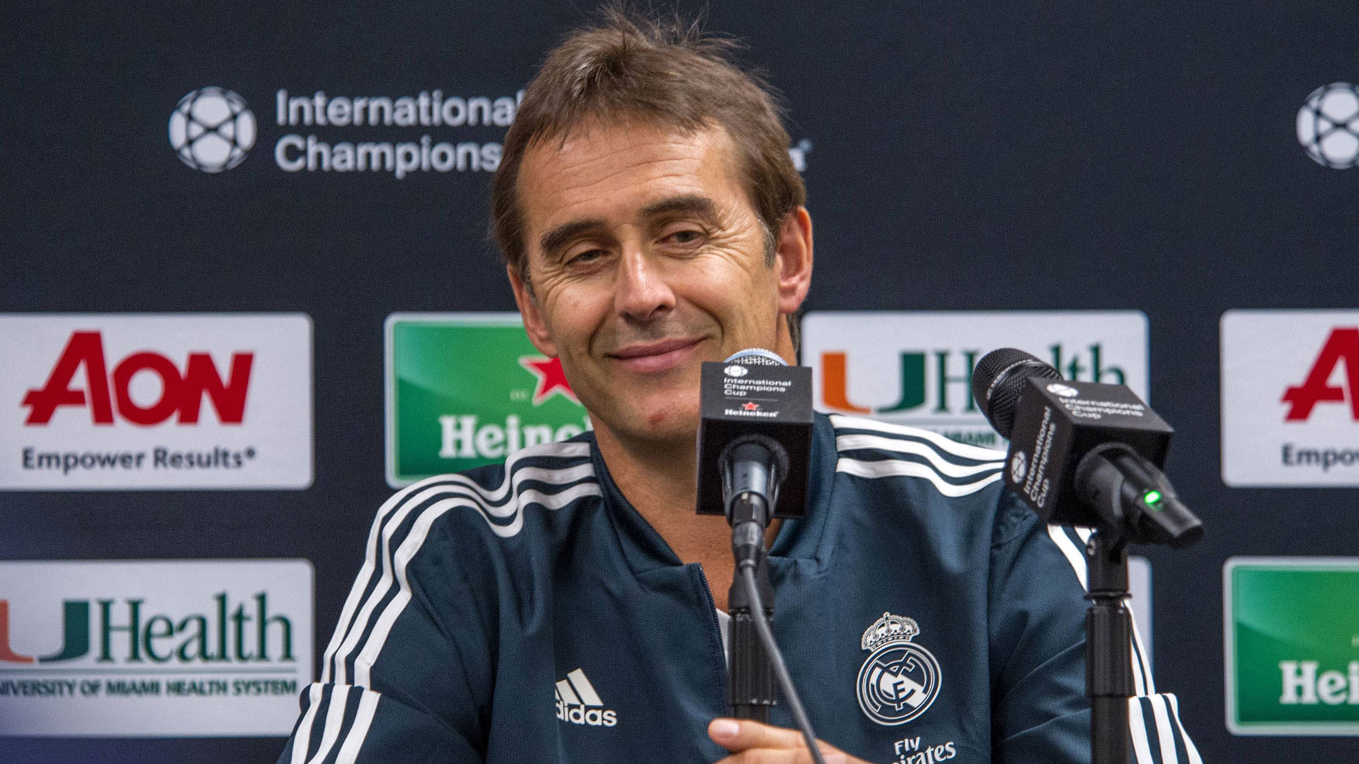 GER ONLY Julen Lopetegui Real Madrid