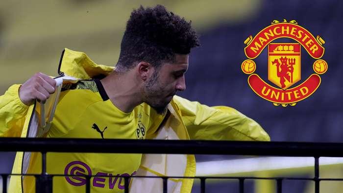 Jadon Sancho Man Utd 2019-20