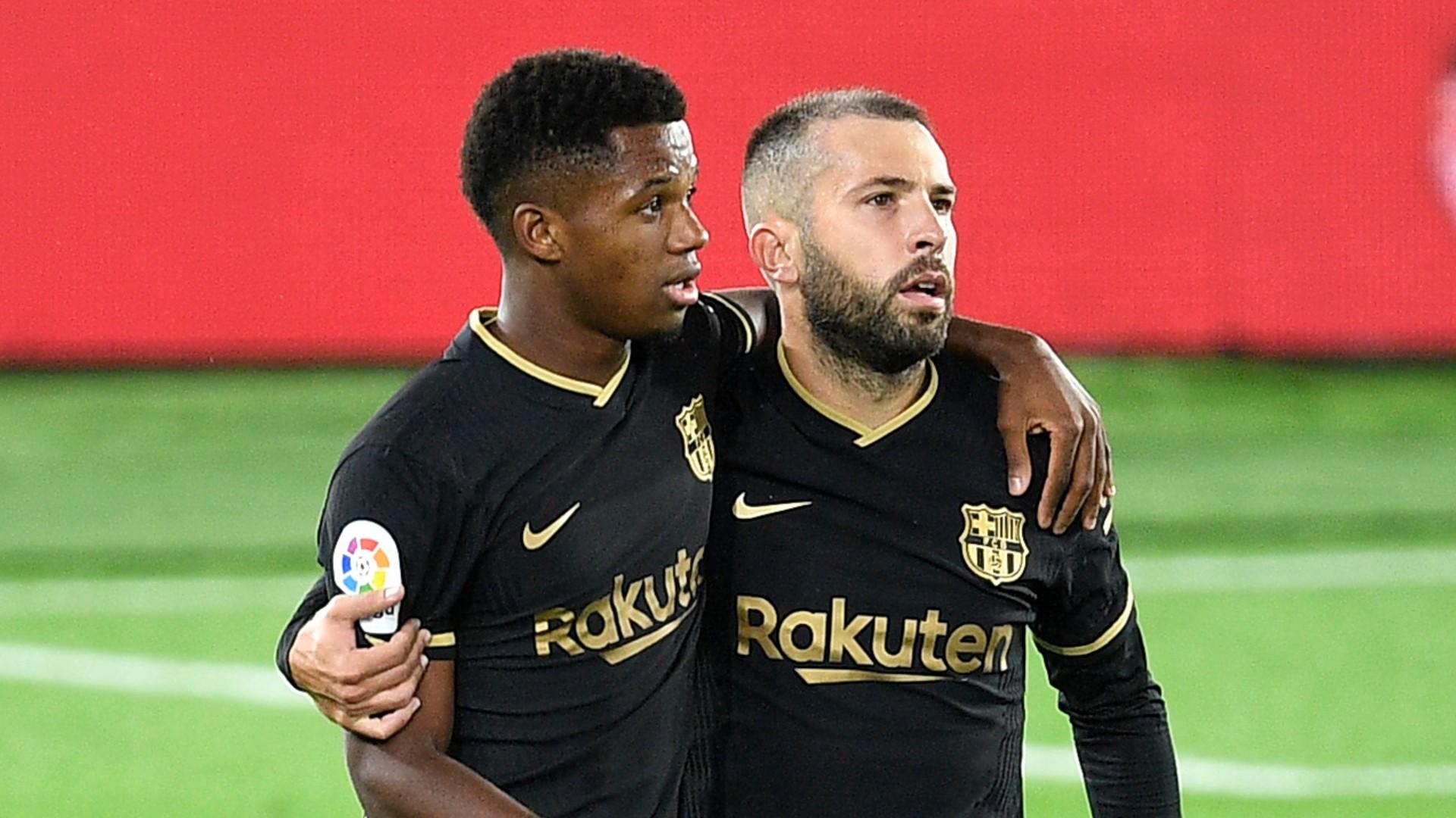 Barca revelation Ansu Fati wins La Liga MVP award for September