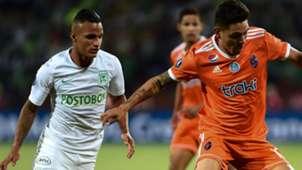 Brayan Rovira Atlético Nacional - La Guaira Copa Libertadores 2019