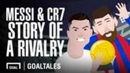 Messi and Ronaldo - football's greatest rivalry