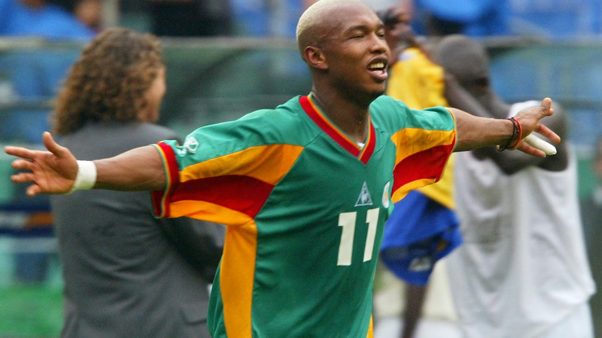 El-Hadji Diouf chambre encore les Bleus après le Mondial 2002