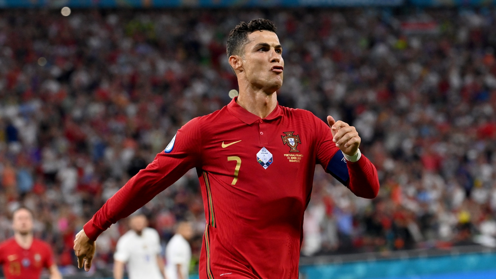 Ronaldo becomes joint-top scorer in international football with brace against France