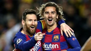 Lionel Messi Antoine Griezmann Barcelona 2019-20