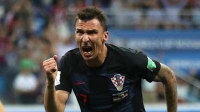 Mario Mandzukic Croatia 2018