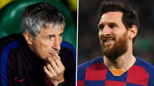 Messi đang cần nghỉ ngơi, HLV Barca chỉ ra lý do... không thể làm vậy | Goal.com