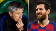 Quique Setien Lionel Messi Barcelona GFX
