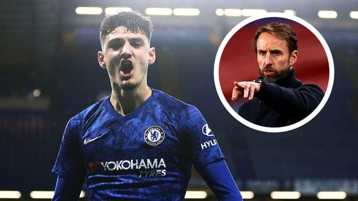 Armando Broja Chelsea Albania England Gareth Southgate GFX