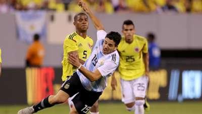 Giovanni Simeone Wilmar Barrios Argentina Colombia Amistoso Internacional 11092018