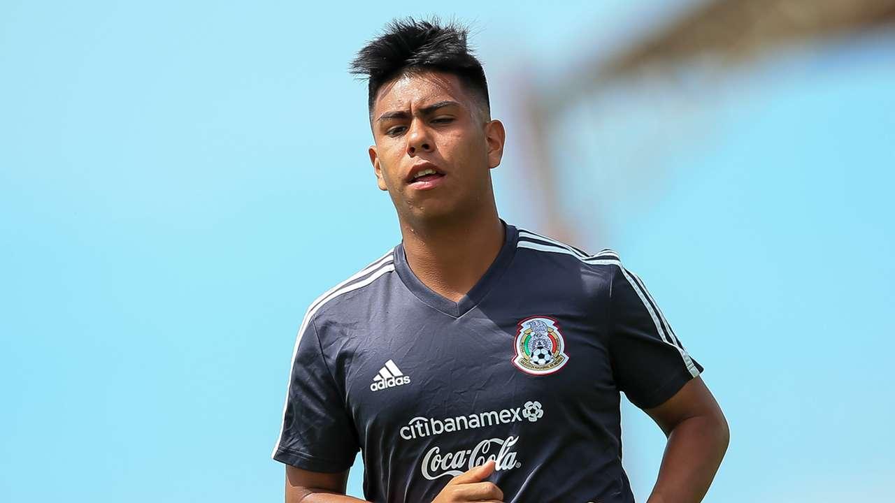 Efrain Alvarez Mexico Under-17s