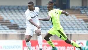 Mwatate FC v AFC Leopards in FKF Shield Cup.
