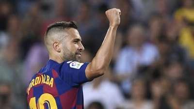 Jordi Alba Barcelona 2019-20