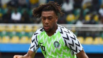 Alex Iwobi Nigeria 2019