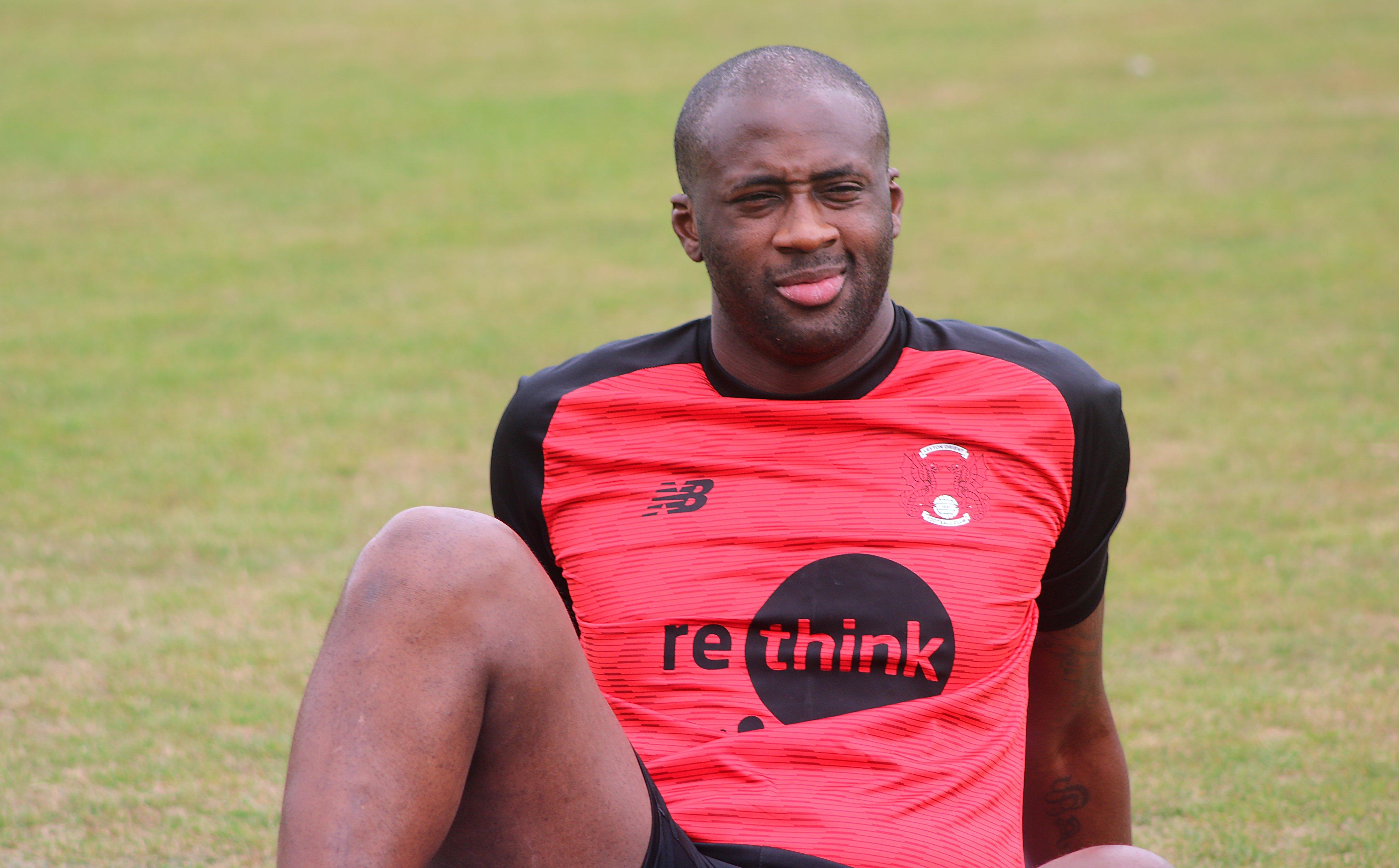 Ex-Barcelona, Man City star Yaya Toure training with Leyton Orient