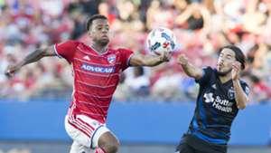 Kellyn Acosta Jahmir Hyka FC Dallas San Jose Earthquakes MLS