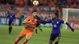 Hariss Harun, Shandong Luneng v Johor Darul Ta'zim, AFC Champions League, 9 Apr 2019