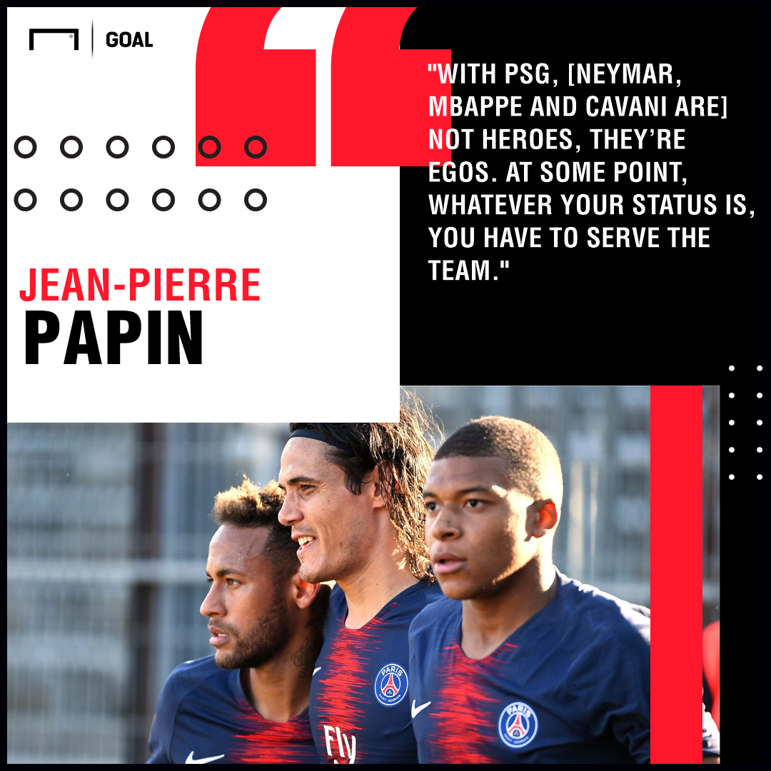 Jean-Pierre Papin PSG PS