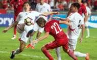2019 AFC Asian Cup qualification, Hong Kong 1:1 North Korea.