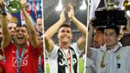 Cristiano Ronaldo Man United Juventus Real Madrid