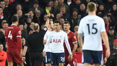 Dele Alli Tottenham Hotspur Liverpool Premier League 2017-18
