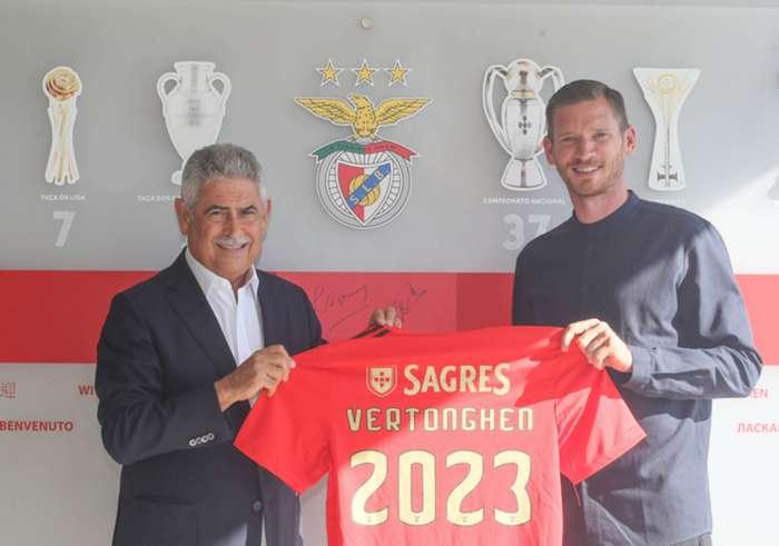 Jan Vertonghen Benfica 2020
