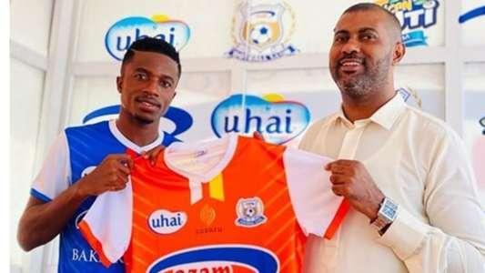 Yahya Zayd: Azam FC unveil striker from Pharco FC on deadline day