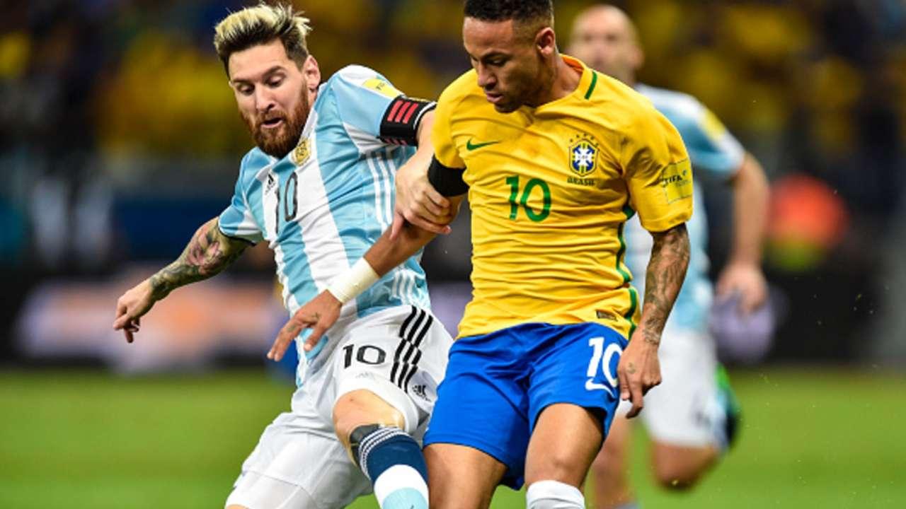 Lionel Messi, Neymar, Brazil, Argentina