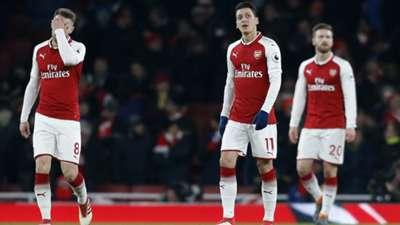 Mesut Ozil Arsenal Manchester City