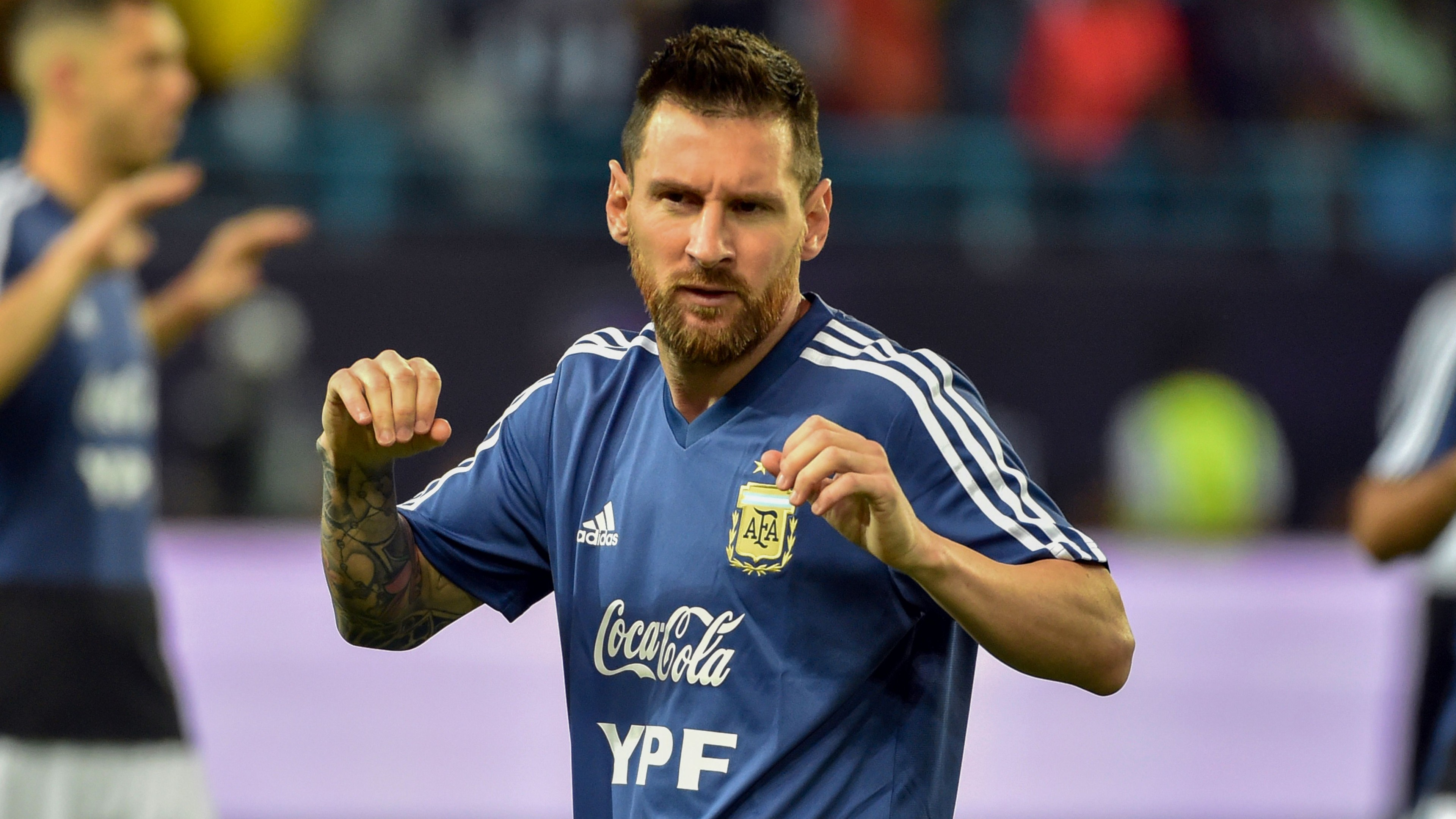 Messi selected in Argentina's World Cup qualifier squad