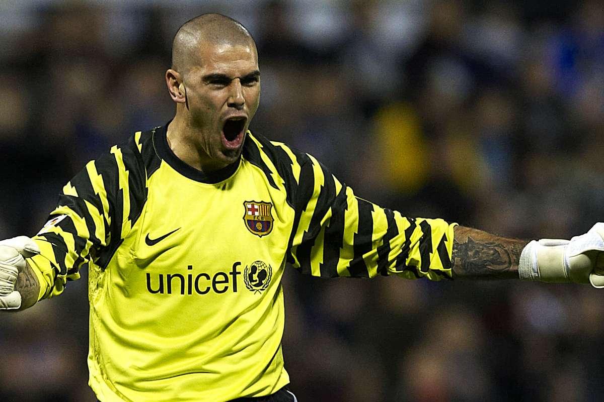 Victor Valdes Kembali Ke Barcelona   Goal.com