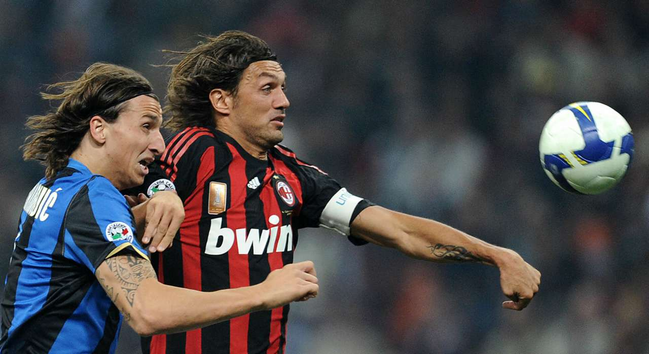 Paolo Maldini Zlatan Ibrahimovic