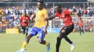 Erisa Sekisambu (c) of KCCA FC vs Vipers SC.