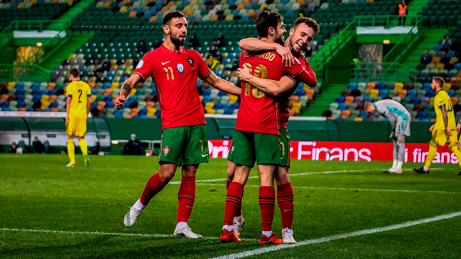 Ronaldo absence didn't change Portugal but winning is easier with best in the world, says Fernandes