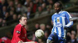 Pascal Chimbonda Wayne Rooney Wigan Man Utd