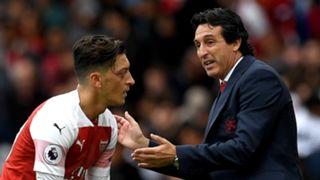 Mesut Ozil, Unai Emery, Arsenal