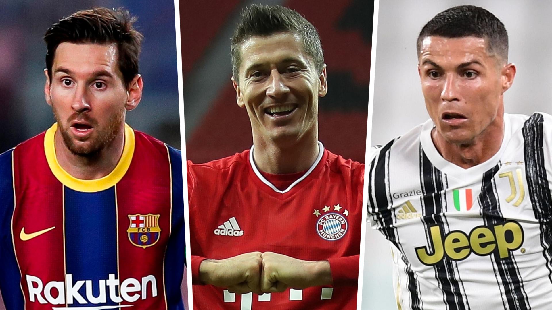 FIFA 21 Team of the Year: Ronaldo & Lewandowski headline as Messi misses out