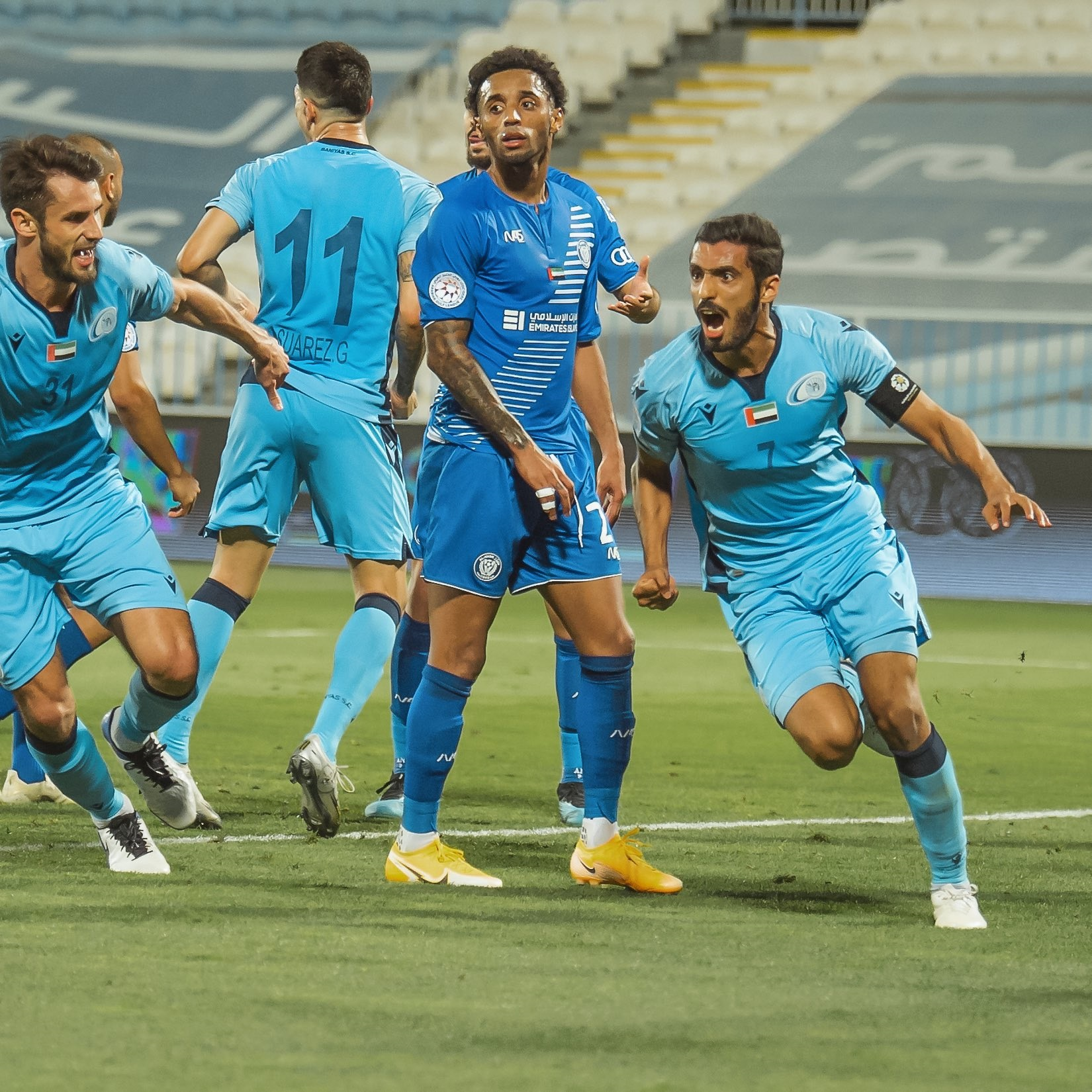 Bani Yas snatch late win to keep up pressure on Al Jazira in title race