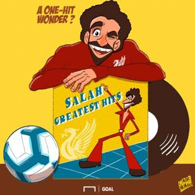 Mohamed Salah Liverpool Cartoon