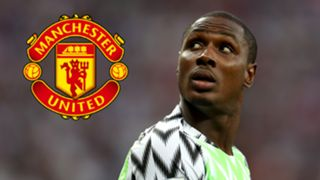Odion Ighalo Manchester United logo