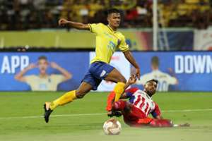 Young Jeakson Singh is taking his chances at Kerala Blasters