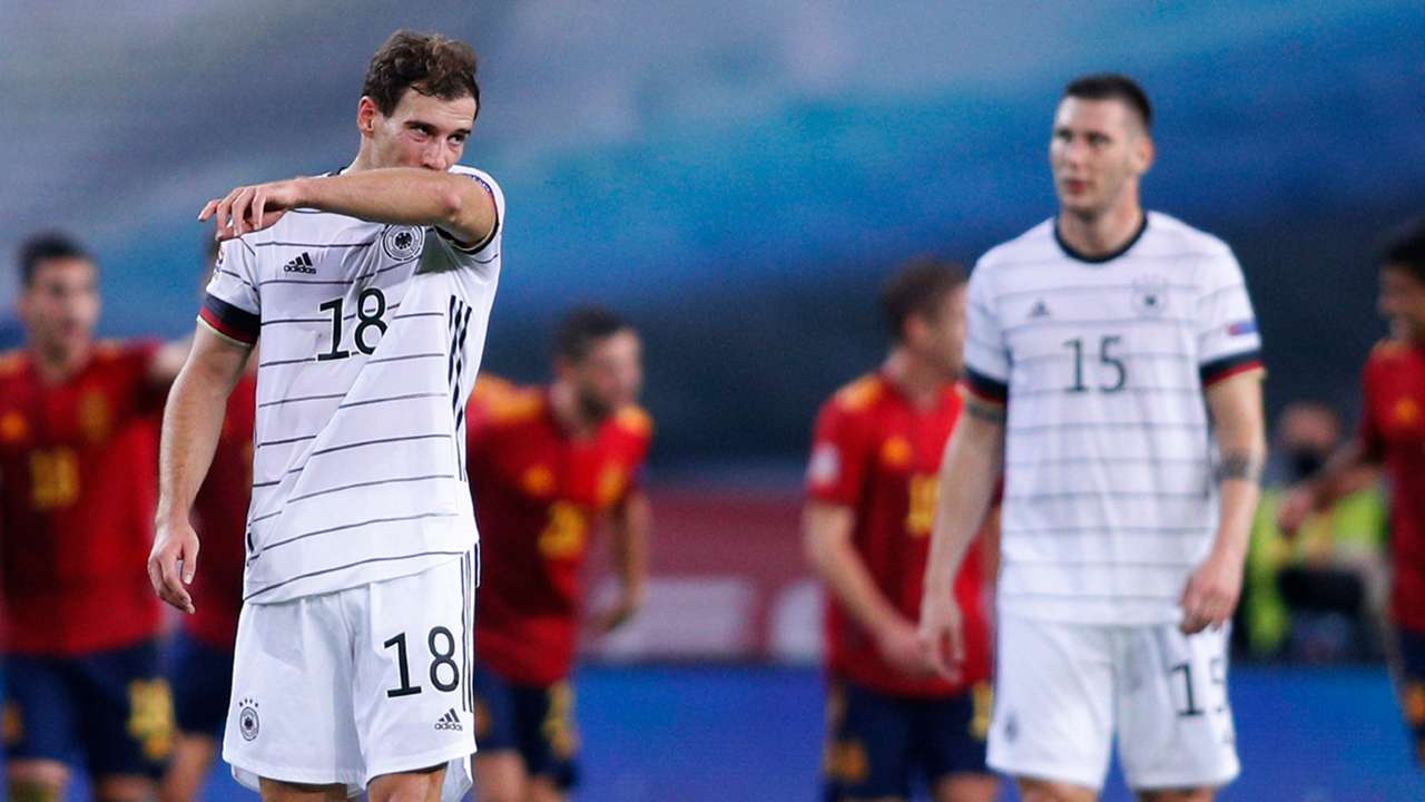 Leon Goretzka Niklas Sule Germany Spain 2020