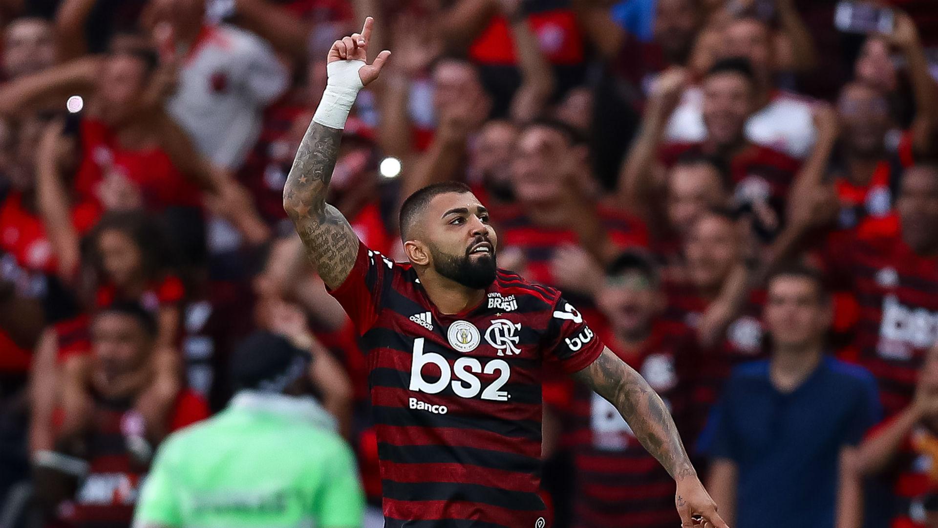 Gabigol Flamengo Palmeiras Brasileirão 01 09 2019