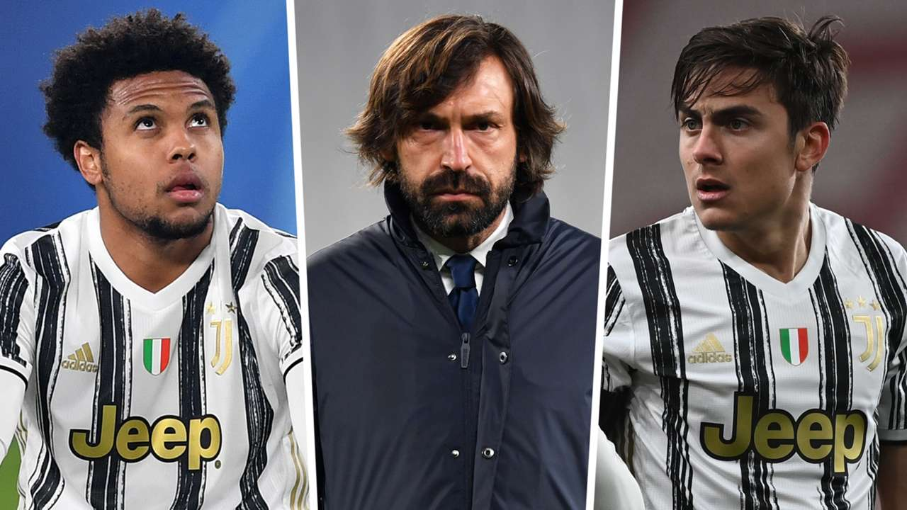 Andrea Pirlo Weston McKennie Paulo Dybala Juventus GFX